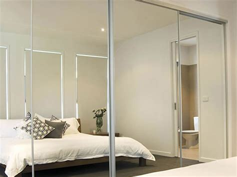 Glass Mirror Wardrobe Doors by Gold Coast Sliding Wardrobe Doors