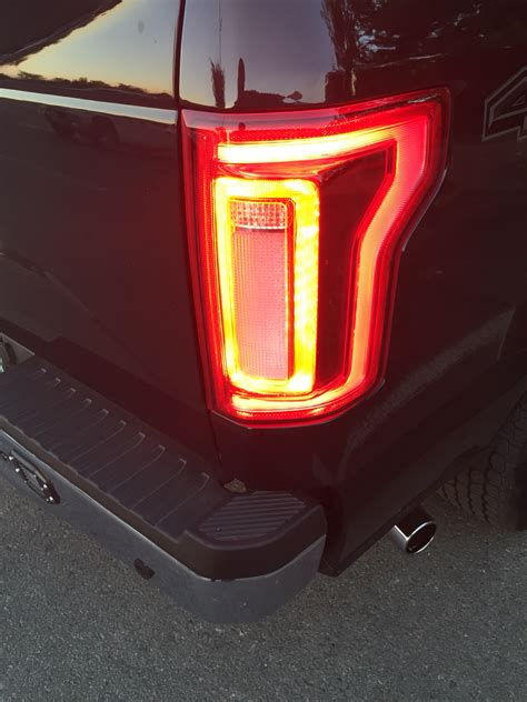 ford truck led lights f s 2015 2015 king ranch non blis led tail lights ford