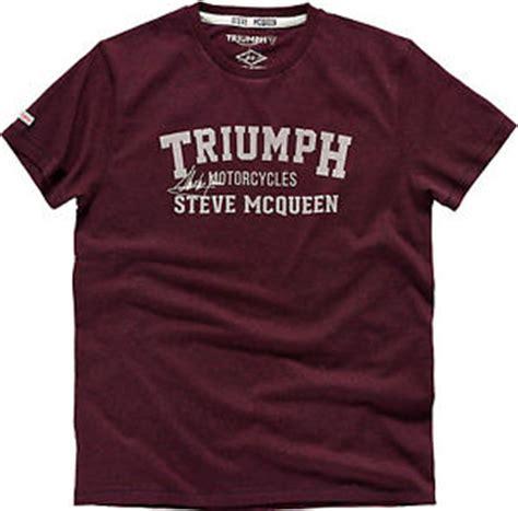 Triumph Motorrad T Shirt by Genuine Triumph Motorrad Oliver T Shirt Steve Mcqueen T