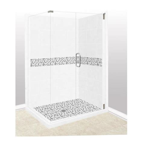 american bath factory shower reviews shop american bath factory laguna sistine wall composite floor rectangle 10