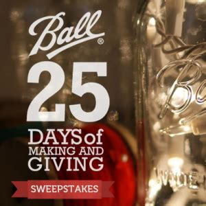 Automatic Sweepstakes Entry - ball 25 days of making and giving sweepstakes win a ball freshtech automatic home