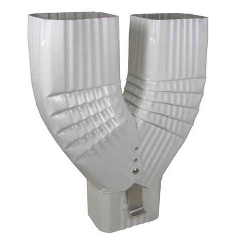 K Funnel Gutter - the y diverter comes with a latch to direct water to