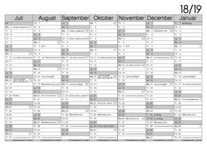 Kalender 2018 Juli August Kalender 2018 Juli Januar 2019 Revisionlimfjord
