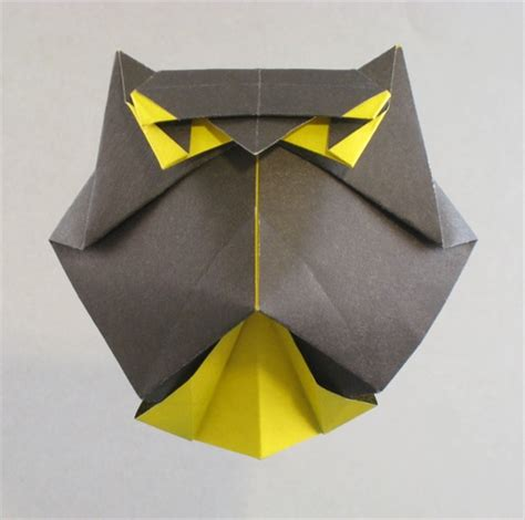 Owl Origami - origami essence by diaz book review gilad s