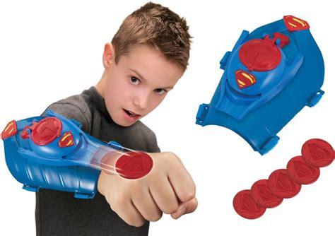Toys Kryptonian thinkway toys kryptonian gauntlet with disc launcher