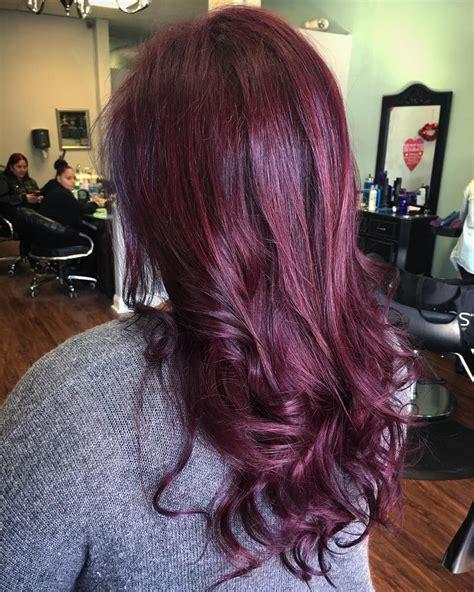 light burgundy hair color 50 vibrant hair color ideas violet light