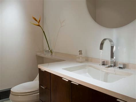 best countertop for bathroom solid surface bathroom countertop options hgtv