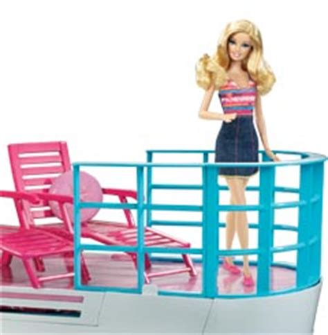 barbie adventure boat barbie sisters cruise ship toys games