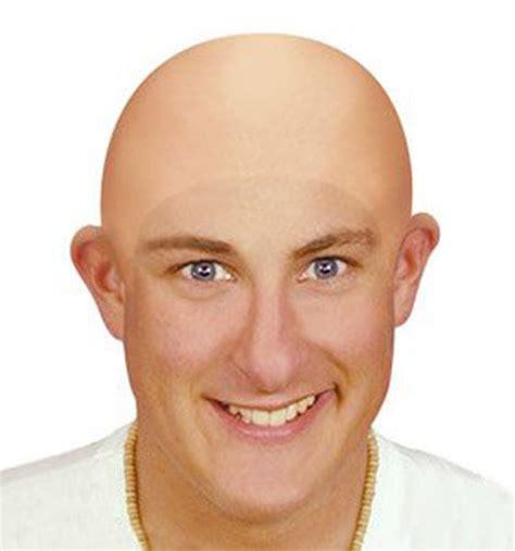 bald head fake bald head skinhead baldy clown mens ladies fancy