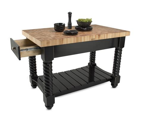 kitchen island boos boos tuscan isle maple end grain butcher block island