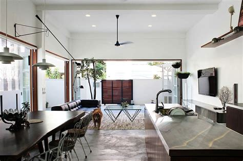 home lighting design in singapore old terrace house turned into a modern family residence
