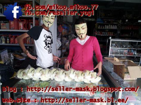 Topeng Order seller mask