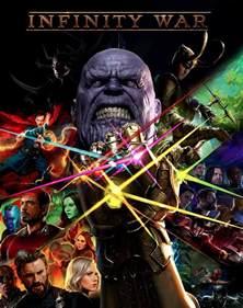 marvel s infinity war the of the infinity gauntlet inspired infinity war poster