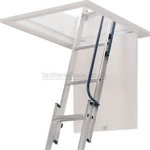 abru werner blue seal easy stow 3 section loft ladder