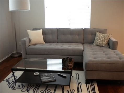 sectional in a small living room furniture picturesque small grey sectional to complete your living room furniture founded project