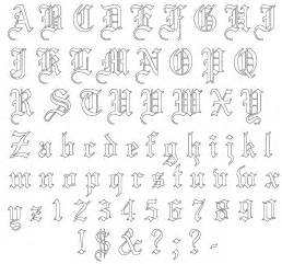 gallery for gt old english stencils free printable