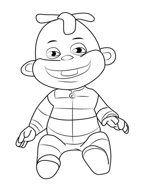 kid coloring sid the science kid coloring pages free printable sid the