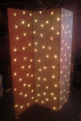 fold up screen room divider folding screen room divider 3 panel lights up brand new white or brown