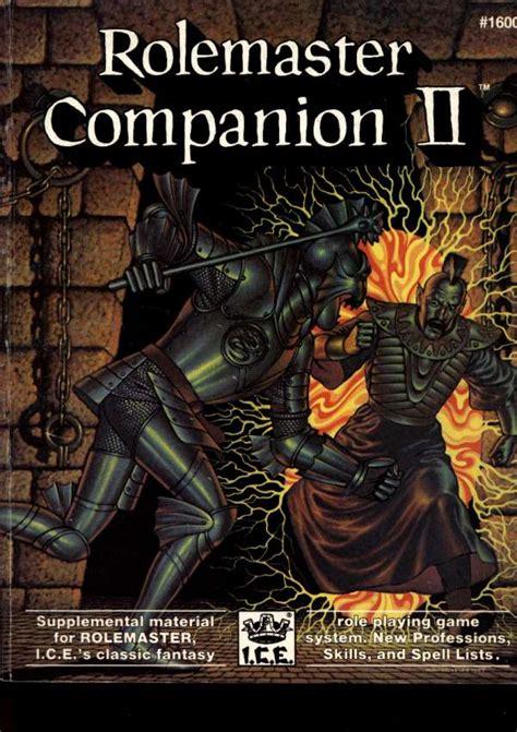 Rolemaster Companion 3 mittelerde rollenspiel