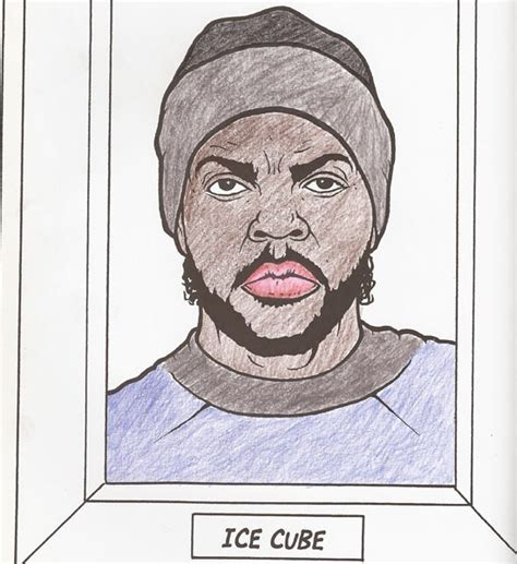 Inside the Pages of the 'Gangsta Rap Coloring Book
