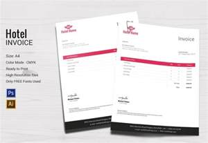 Hotel Invoice Template by Microsoft Invoice Template 54 Free Word Excel Pdf