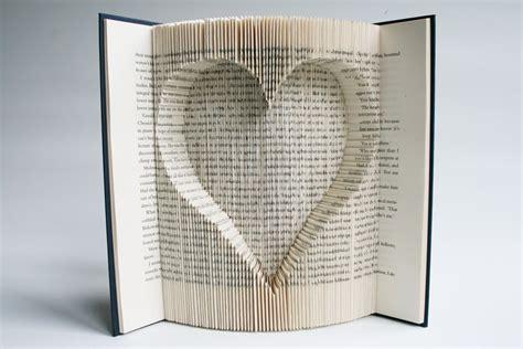 book folding pattern maker free book folding tutorial inverted heart youtube