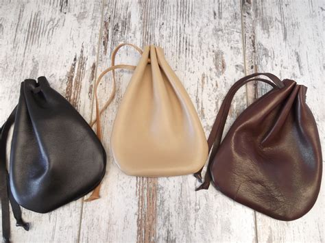 how to make a jewelry pouch drawstring leather drawstring pouch drawstring bag medicine pouch