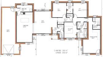 maison design 133 m 178 3 chambres plan