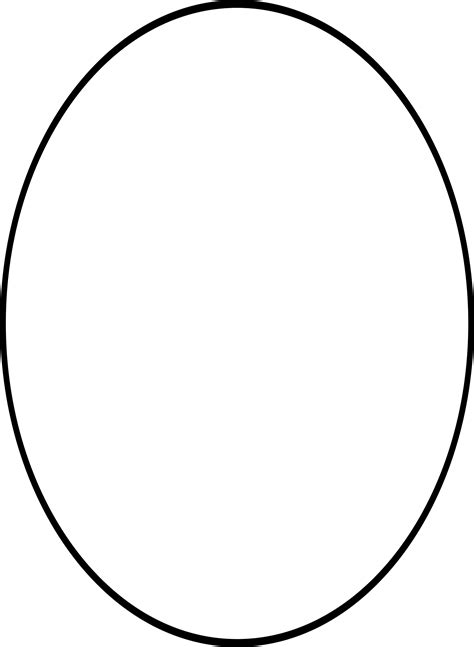 Image Freeuse Library Oval Transparent Clip Art - Drawing
