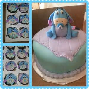 cupcake themed baby shower decorations baby eeyore baby shower cake cupcakes disney themed