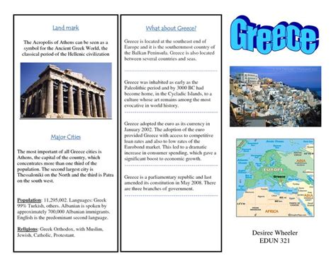 travel brochure templates for students 1000 images about grease brochure on