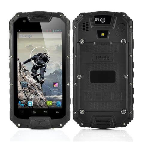 rugged android phone 4 5 inch rugged android phone with walkie talkie ip68 waterproof 1 2ghz cpu 1gb ram