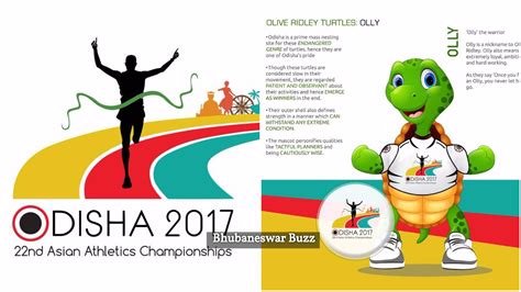 graphics design job in bhubaneswar olive ridley aka olly unveiled as mascot of asian