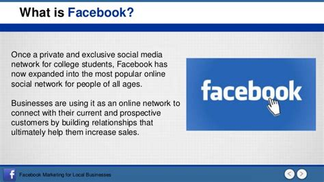what is a one marketing for local business social media marketing