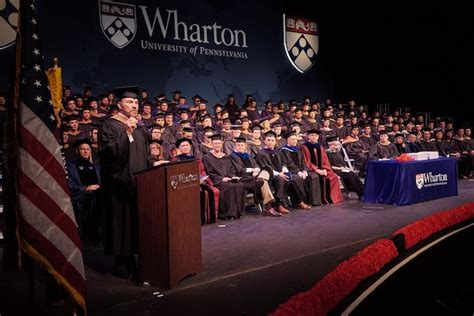 Wharton Mba Convocation by Wharton On Top Of U S News Emba Ranking Once Again