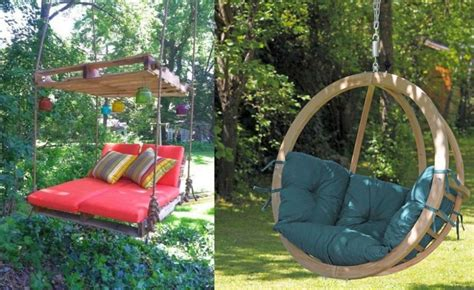 how to make swing at home 15 beautiful wooden swings home design garden