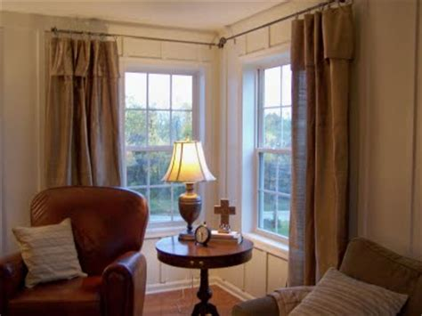 how to hang curtains around a corner advice how to hang curtains at corners pip thenest