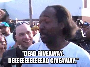 The Dead Giveaway - file hero charles ramsey dead giveaway reaction gif gif