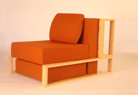 Transforming Furniture by Gig Chair Transforms Into A Bed Chaise And Ottoman Gig
