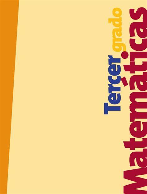 libro matemticas 1 primaria libro de matem 225 ticas de 3 176 de primaria