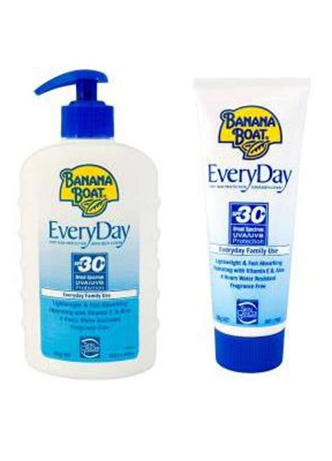 banana boat sunscreen not working banana boat everyday sunscreen