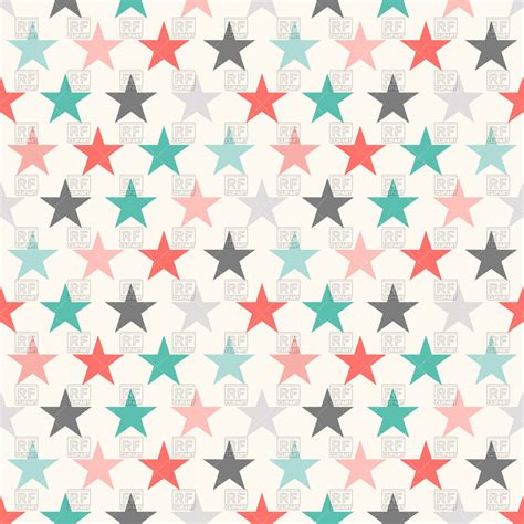 seamless pattern stars colorful seamless pattern with stars royalty free vector