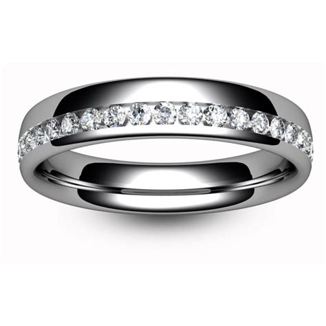 7 Beautiful Eternity Rings by Eternity Ring Tbc1017h Half Channel Set All Metals