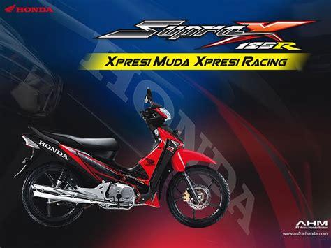 Supra X 125 R supra x 125 pgm fi injection modifikasi motor