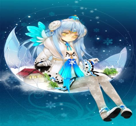 wallpaper anime nexus winter fairy other anime background wallpapers on