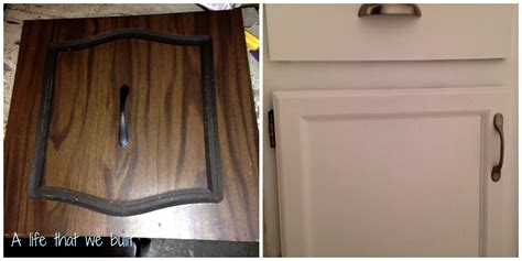 Refurbishing Kitchen Cabinet Doors Diy Cabinet Door Refinish A That We Built