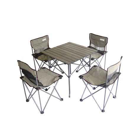 Portable Table And Chairs by Ore International Portable Children S Cing Table And