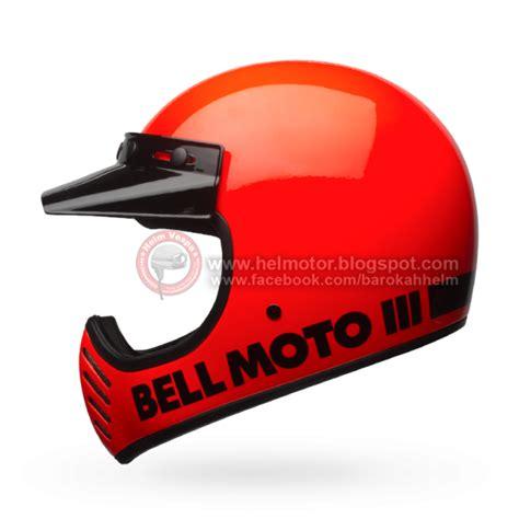 Helmet Bell Lama helmet bell moto 3 classic flo orange helm vespa