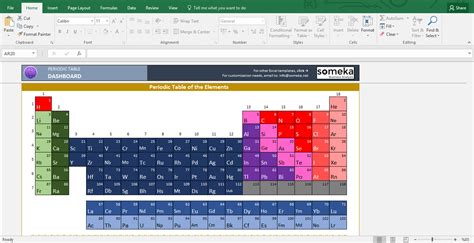 printable periodic table excel periodic table worksheet printable excel template