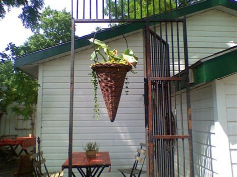 Rumble In The Garden by Hanging Basket In The Garden Picture Of Rumble Tum Cafe